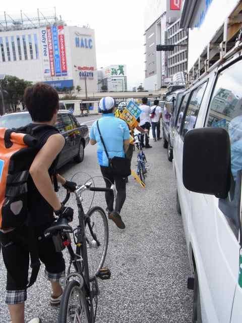 自転車隊、動く!.jpg