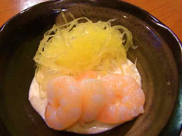 芝えびと糸瓜のマヨネーズクリーム和え.jpg