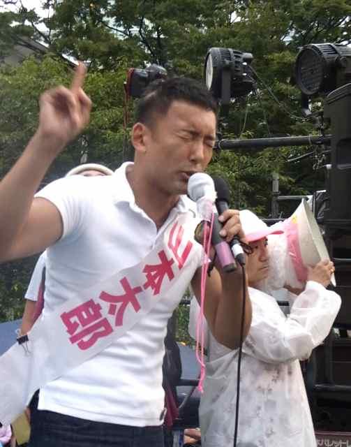 訴え続ける山本太郎。.jpg