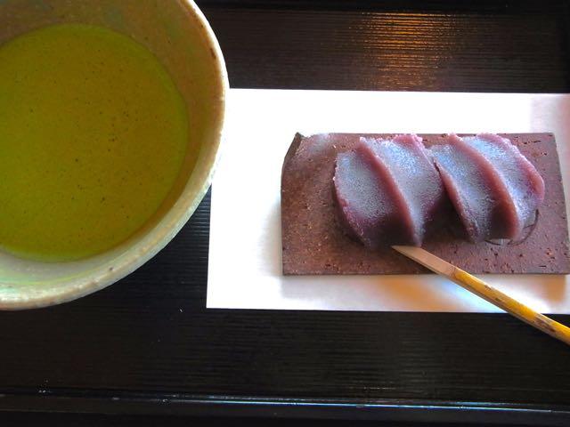 赤福餅と、お抹茶。.jpg