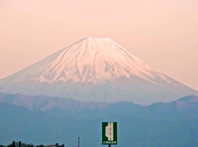 帰路、中央道からの富士山。.jpg